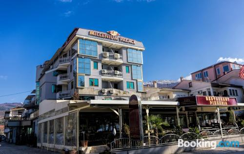 Apartamento en Ohrid ¡Con terraza!