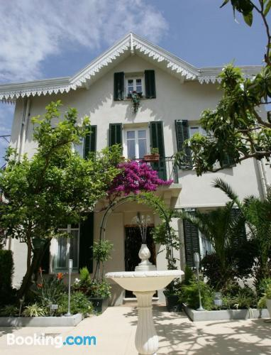 Home for two people in Cannes. 22m2!