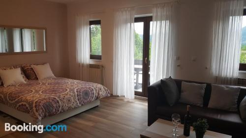 Apartamento para dos personas en Drežnik Grad. Buena zona