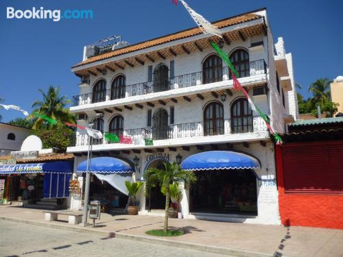 Apartment for 2 in Puerto Escondido. Be cool, there\s air-con!